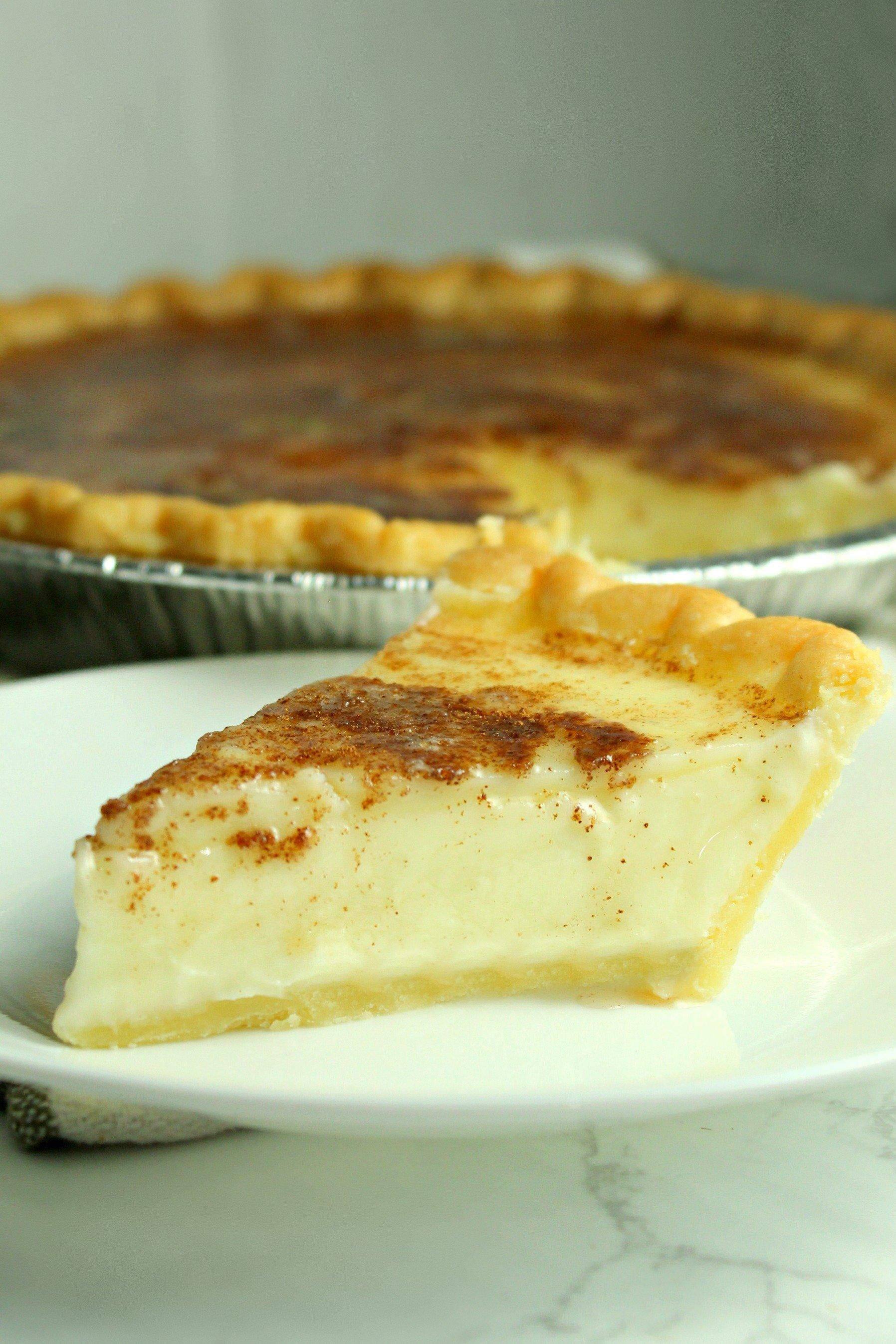 Old Fashioned Sugar Cream Pie