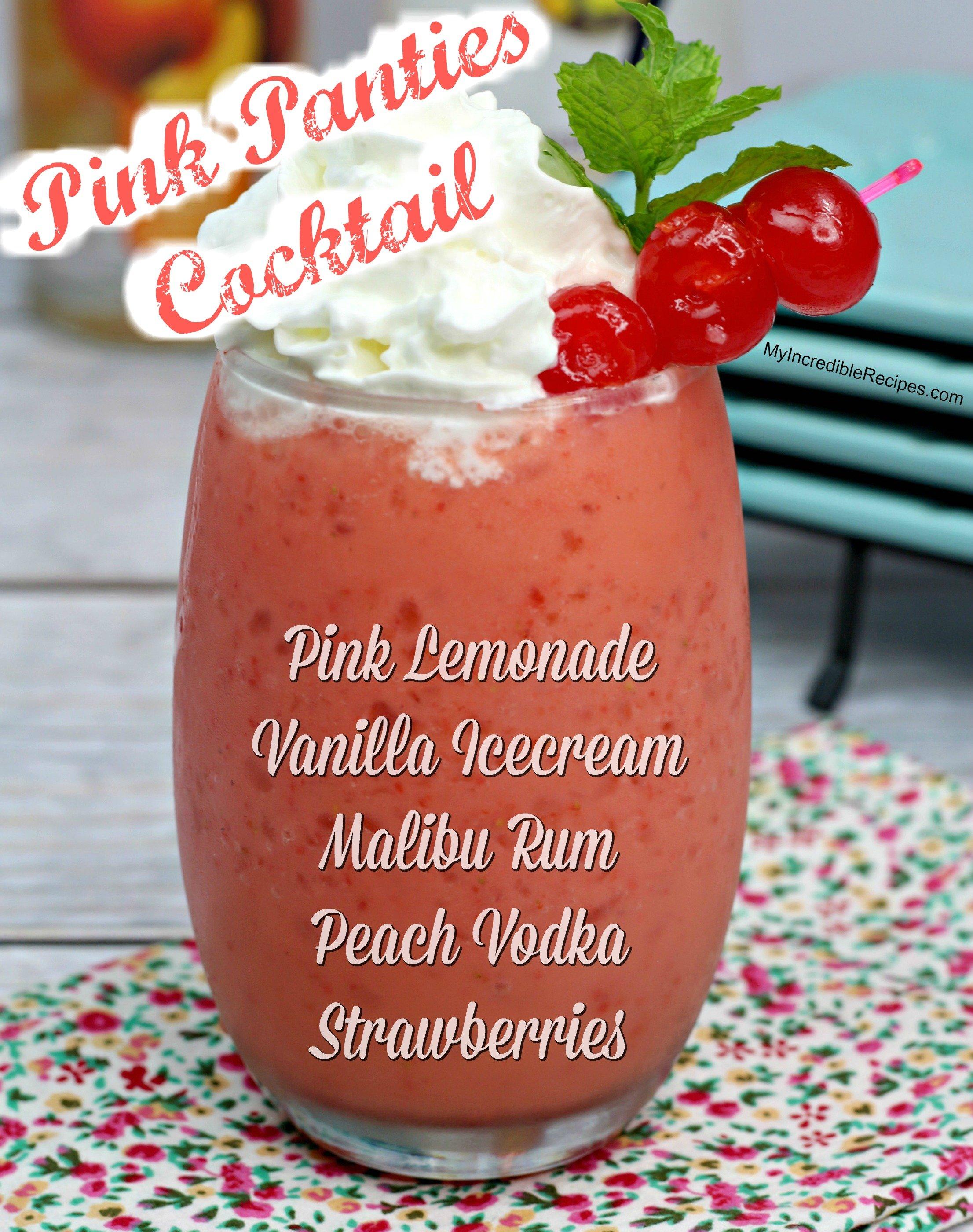 Recipe For Pink Panties Png